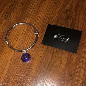 TCU Ashley Bridget Bracelet